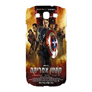SamSung Galaxy S3 9300 phone cases White Captain America cell phone cases Beautiful gifts TRIJ2767089