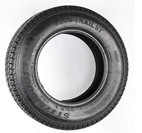 ST 175/80D13 Nanco S622 6 Ply C Load Bias Trailer Tire 1758013