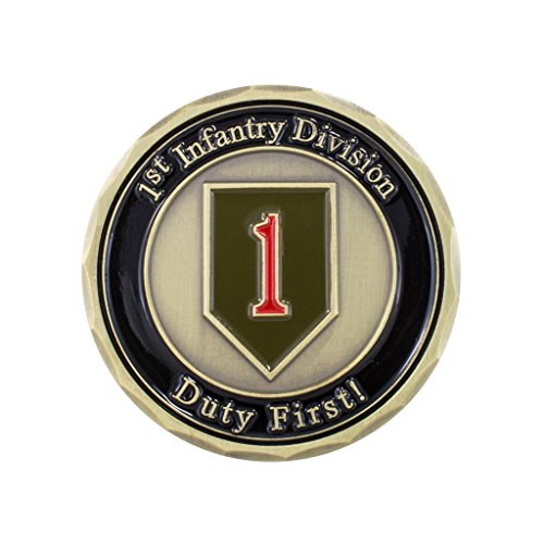 "New 1.75"" Challenge Coin: US Army 1st Infantry Division - """