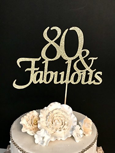 80th Birthday Cake Toppers Shop 80th Birthday Cake Toppers Online