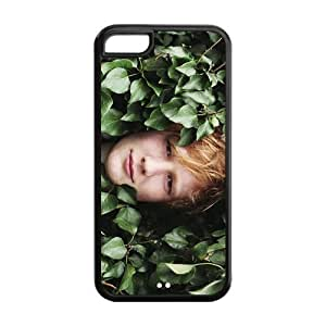 Singer Ed Sheeran Durable TPU Protective Case Cover For Iphone 5c (Black, White)