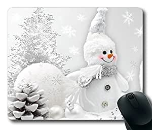 Perfect So Sweet Snowman Masterpiece Limited Design Oblong Mouse Pad by Cases & Mousepads