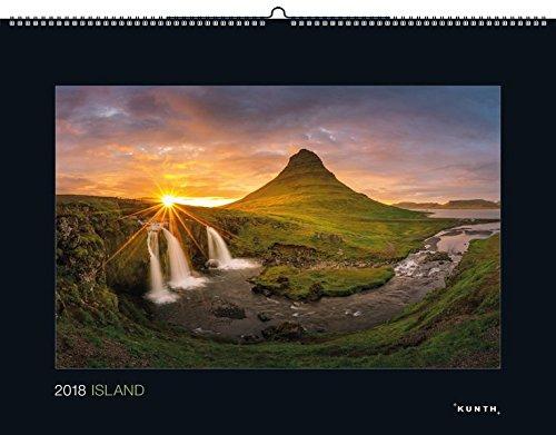 island-2018-kalender-2018-kunth-wandkalender-black-edition