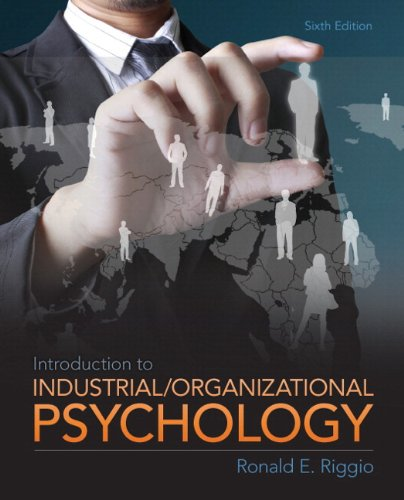 Introduction to Industrial and Organizational Psychology Plus MySearchLab with eText -- Access Card Package (6th Edition