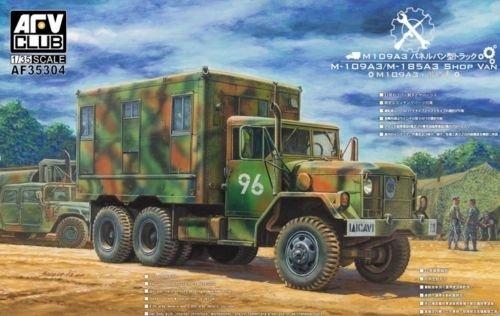 AFV Club 1/35 M109A3 VAN SHOP (Van body with internal structure) AF35304