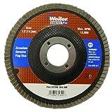 Weiler 804-31345 Vortec Pro Type 29 Flap Disc, Zirconia Alumina, 60 Grit, 7/8'', 13000 rpm, 4-1/2''