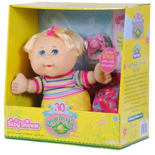 Cabbage Patch Kids Babies Baby's 1st Birthday, Girl, Blond Hair, and Blue Eyes, Baby & Kids Zone