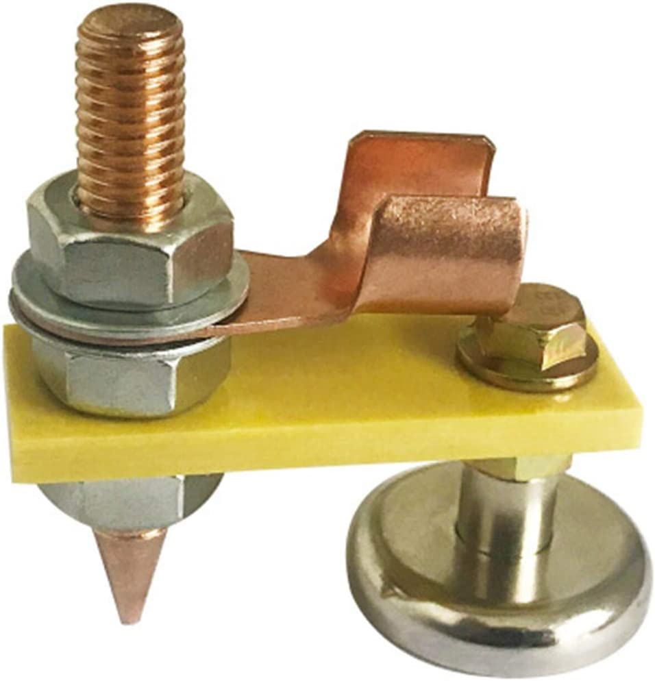 Welding Magnet Head,Magnetic Welding Bracket,Copper Tail Welding Stability Strong Magnetism Large Suction 2D
