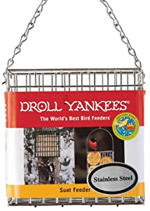 Droll Yankees PSF-S Premium Suet Feeder Single Special Offers