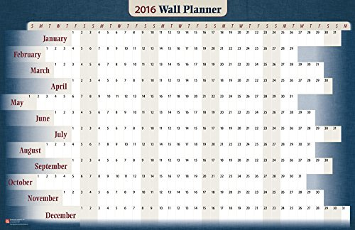 Business 2016 Wall Planner Horizontal