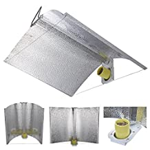 "Yescom 27""x18"" Adjustable Wing Reflector Hood for Hydroponic 1000w 600w 400w 250w HPS MH Grow Tent Light Kit"