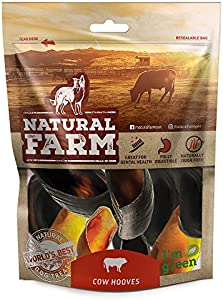 Sweepstakes: Natural Farm Pet Cow Hooves (6-Pack) All-Natural