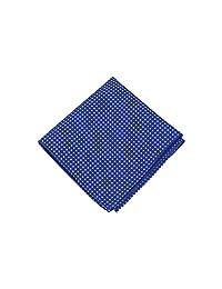 Jacob Alexander Polka Dot Print Polka Dotted Hanky - Royal Blue