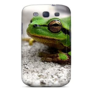 Phone Case Awesome Case Cover Compatible With Galaxy S3 - Green Frog