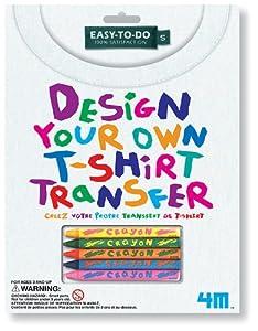 4m Design Your Own T Shirt Transfer Kit Toys