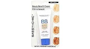 Sassy and Chic B.B. Cream , Multi action Skincare plus Makeup ( light 1)