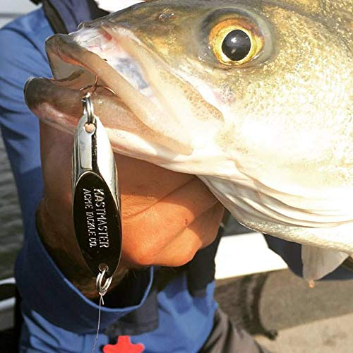 acme Kastmaster Spoon Fishing Lure - Balanced and Aerodynamic for Huge Distance Casts and Wild Action Without Line Twist