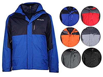 Columbia Men's Rural Mountain Interchange Omni-Heat 3in 1 Jacket