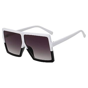 Shihuam Gafas de Sol cuadradas de Gran tamaño para Mujer ...