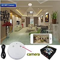 1080P Hidden Camera Smoke Detector Wifi IP Camera Camcorder Video Recorder Security DVR Motion Detection