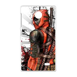 Deathlok red blood warrior Cell Phone Case for Nokia Lumia X