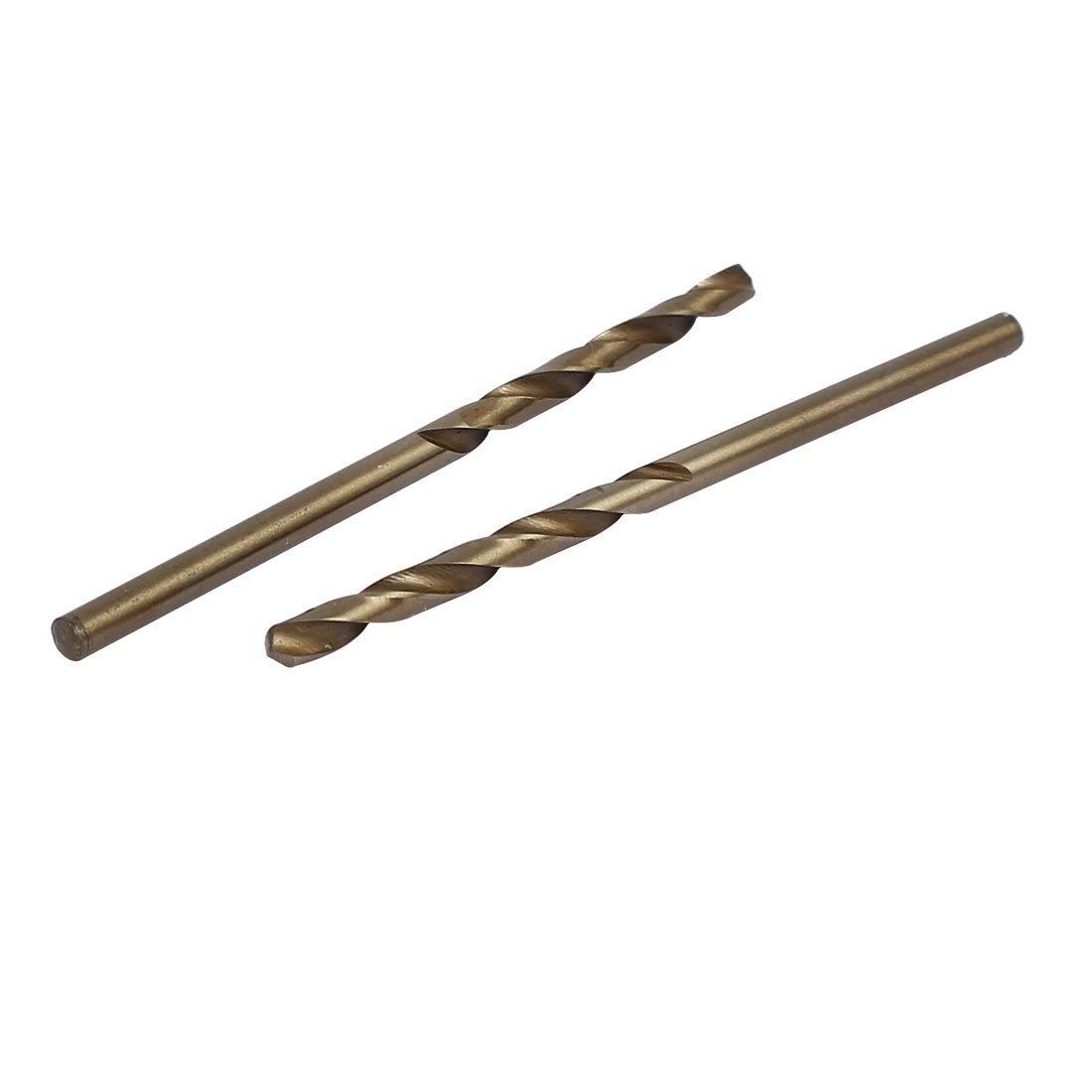 uxcell 2.9mm Dia Split Point HSS Cobalt Metric Twist Drill Bit Drilling Tool 15pcs