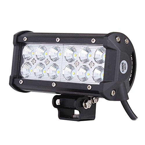 ALL GOOD LED Dual CREE Light Bar 6.5 Inch 36 Watt Spot