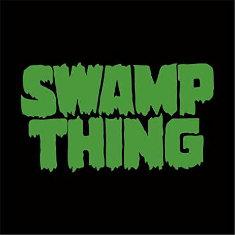Swamp thing decal sticker green 4