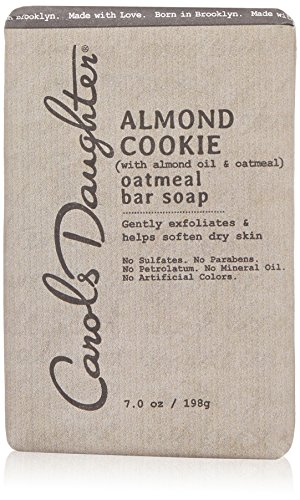 Carol's Daughter Almond Cookie Oatmeal Bar Soap, 7 oz (Best Oatmeal Soap Recipe)