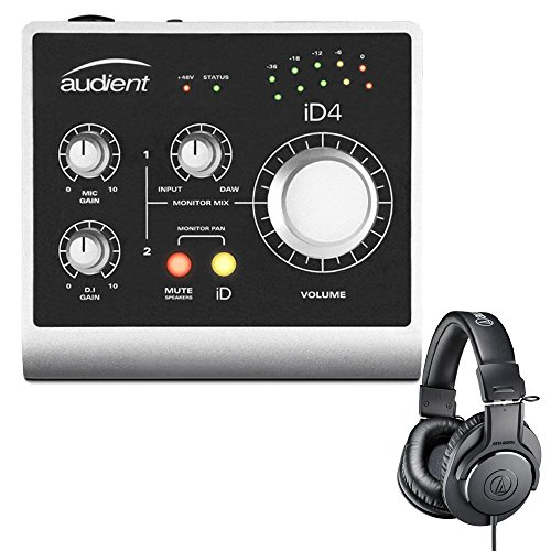 Audient ID4 High Performance USB Audio Interface with Audio