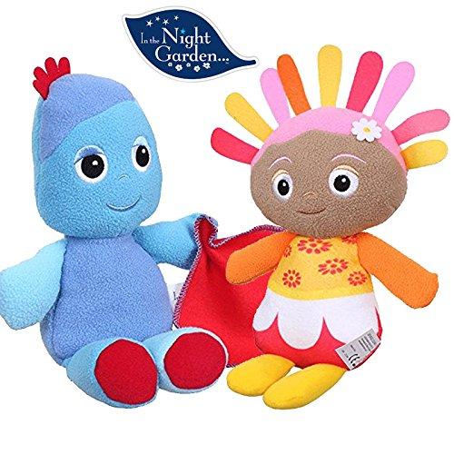 Night Garden Toy - In the Night Garden Softie Soft Plush Toy - 25cm TALKING IGGLE PIGGLE & UPSY DAISY
