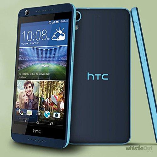 HTC Desire 626h Dual Sim 16GB 4G GSM Unlocked Android International stock No Warranty (Blue)