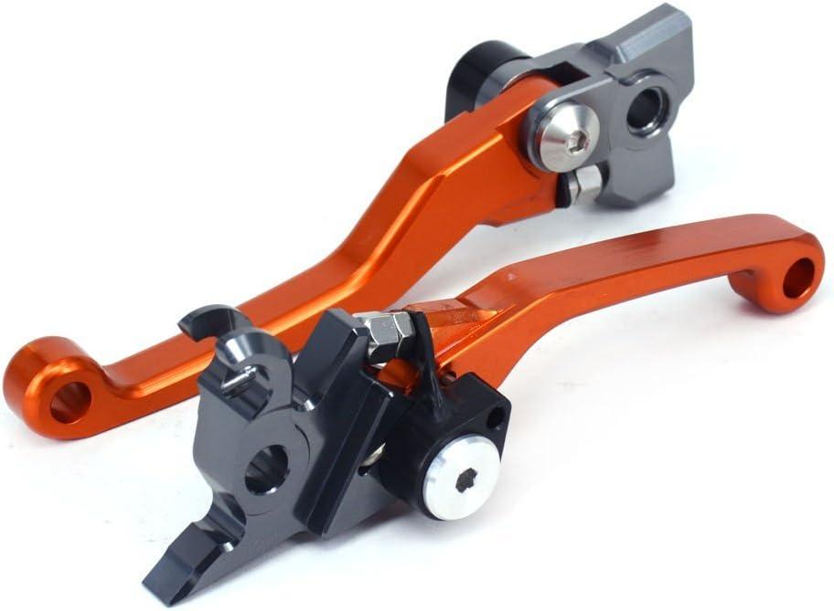 Orange JFGRACING Billet Pivot Faltbare Kupplung Bremshebel f/ür KTM125SX KTM125EXC KTM450SX KTM450SX-F 05-08 KTM450XC 06-07 KTM525SX KTM525XC KTM525XC-W 05-07