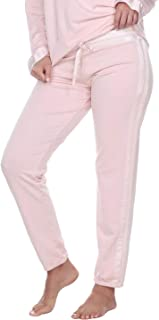 product image for PJ Harlow Blythe French Terry Sweat Pant with Satin Waistband and Trim