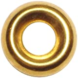 Hard-to-Find Fastener 014973436612 Finishing Washer Brass, 10, Piece-125