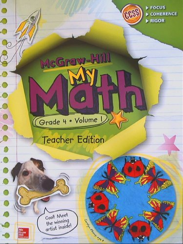 My Math Teacher Edition, Grade 4, Vol. 1