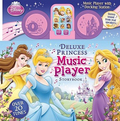 Deluxe Princess Music Player Storybook [With Music Player with Docking Station]   [DISNEY PRINCESS DLX PRINCESS M] ()