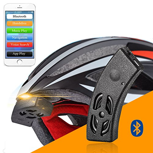 ROCKBROS Smart Bluetooth Helmet Audio Riding Bicycle Bell Speaker Handsfree Phone Call Voice Navigation Waterproof IP54
