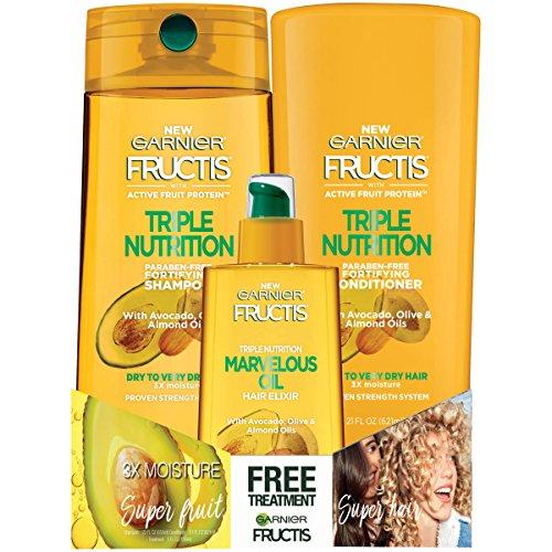Garnier Hair Care Garnier Shampoo & Conditioner Treatment Ki