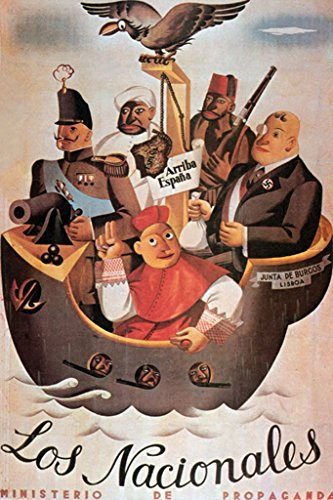 ArtParisienne Los Nacionales 20x30 Poster Semi-Gloss Heavy Stock Paper Print -