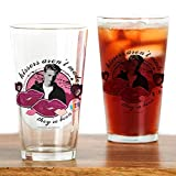 CafePress 90210: Brandon Walsh Kisses Pint Glass, 16 oz. Drinking Glass