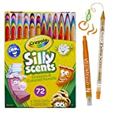 Crayola Silly Scents Twistables, Scented Crayons & Pencils, 72 Count, Gift