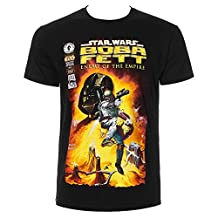 Star Wars Unisex-adults Boba Fett T Shirt
