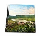 3dRose db_135439_2 Austria, Durnstein, Wachau Valley, Danube River Eu03 Mgl0043 Miva Stock Memory Book, 12'' x 12''