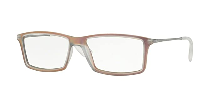 e2eb548cc7 Amazon.com  Ray-Ban RX7021 - 5497 Matthew Eyeglasses Rubber Havana ...