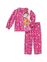 Paw Patrol 2PC Flannel Little Girls Pajama Set