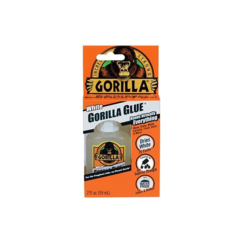 Gorilla White Glue, Waterproof, 2 ounce