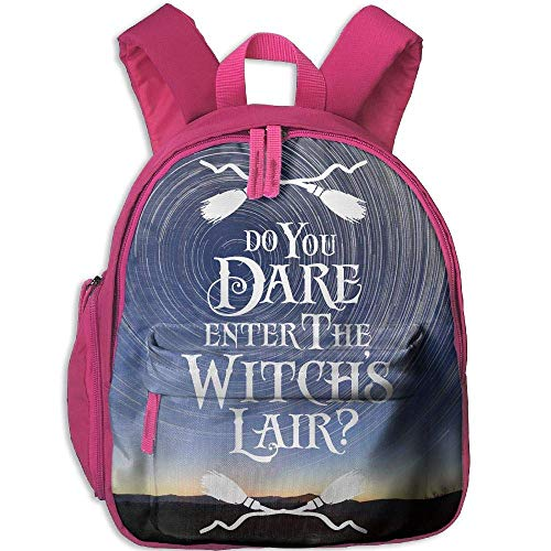 Do You re Enter The Witchs Lair HALLOWEEN 3D Print Student Backpack Kids Fashion Bookbags]()