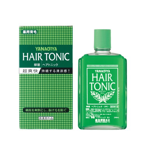 Hair Tonic (YANAGIYA Hair Tonic 240ml (Japan Import))