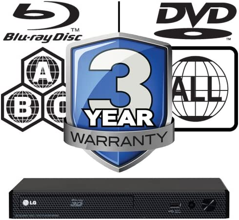 Lg Bp450 3d Multiregion Smart Blu Ray Player Elektronik